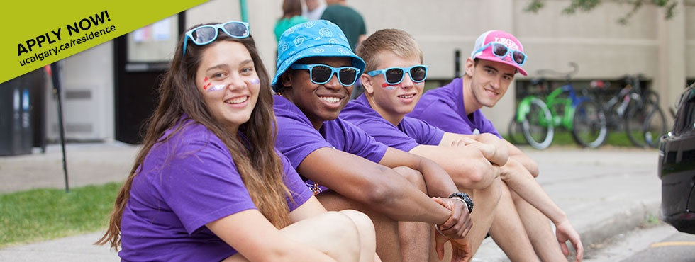 Live on campus … just sayin' - Applications for Residence are now open for 2015-2016 — apply online today